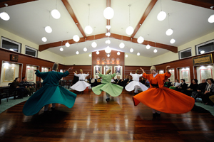 Whirling Dervish Ceremony In Silivrikapi Monestry Sufi