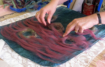 Felt Making Workshop In Istanbul Traditional Turkish Felt