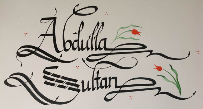 Istanbul Life Org Calligraphy Lessons Workshops In Istanbul
